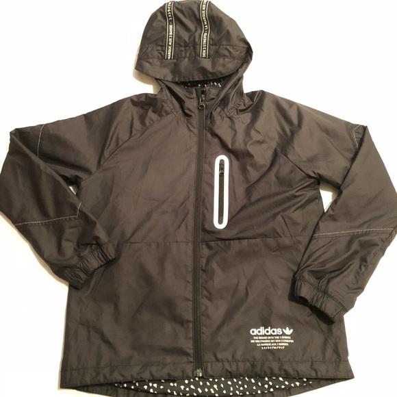 32fe3e2abce5 adidas Other - ADIDAS Boys NMD Windbreaker BQ8348 Sz Small black